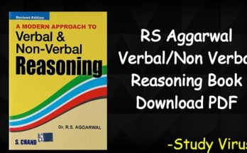 RS Aggarwal Reasoning Book Download Archives - Study Virus